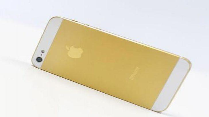 Altın renkli iPhone 5S