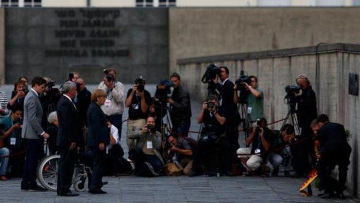 Merkel'den toplama kampına ziyaret