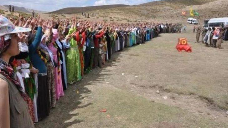 PKK'lının cenazesine katılan başkana hapis