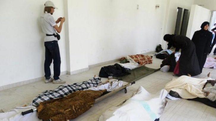Şam: Kimyasal silah intihar olurdu