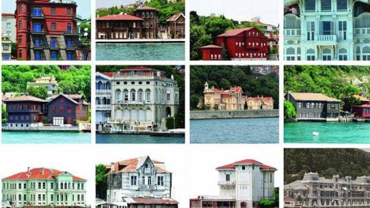 İstanbul'un tarihi yalıları kitap oldu