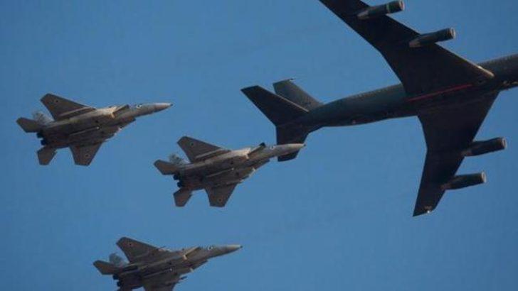 İsrail'den hava operasyonu