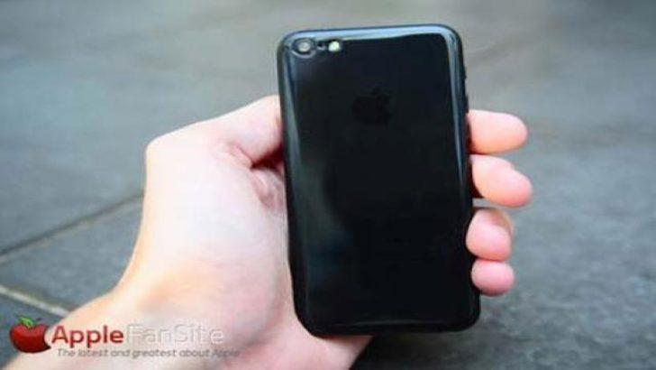 Siyah iPhone 5C ortaya çıktı