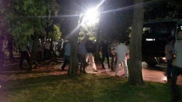 İzmir'de kurulan çadırlara polis müdahalesi