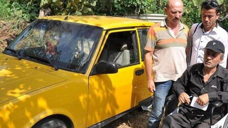 Engellinin takside yaşamı