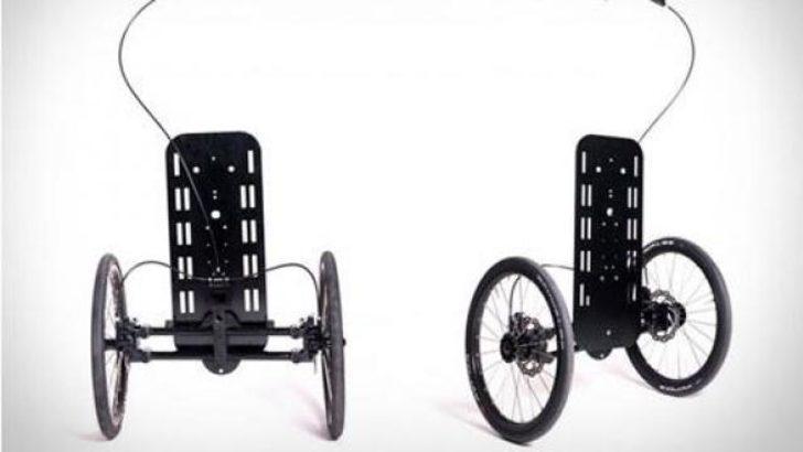 Noomad, bisikletle kargo taşımanızı sağlıyor