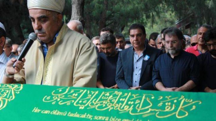 Ahmet Hakan'ın babası toprağa verildi