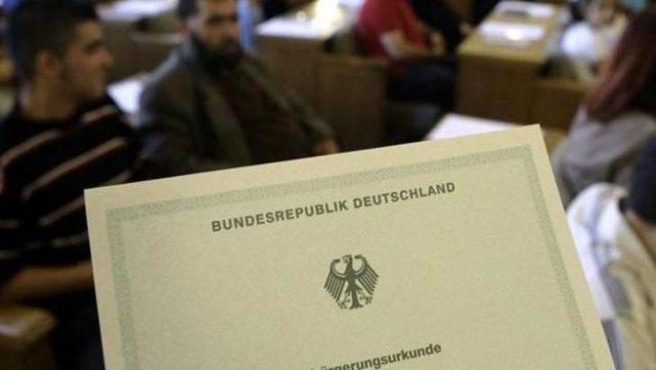 Alman vatandaşlığına geçişte artış
