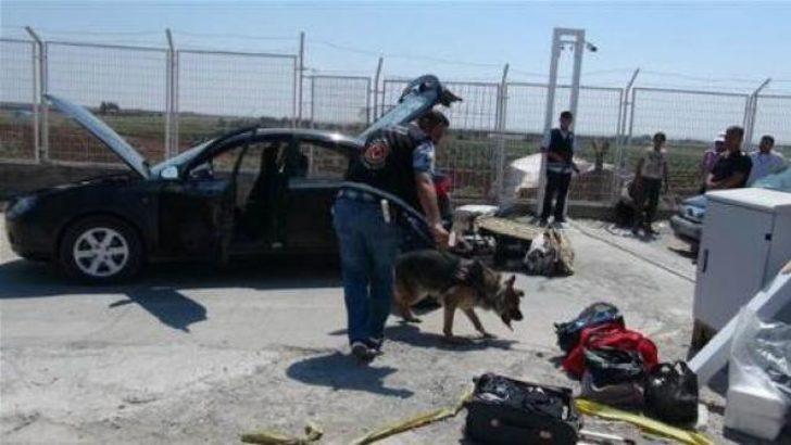 Kilis'te 177 kilo patlayıcı ele geçirildi