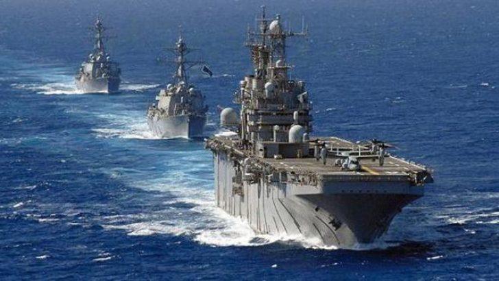 ABD savaş gemileri Suriye açıklarında