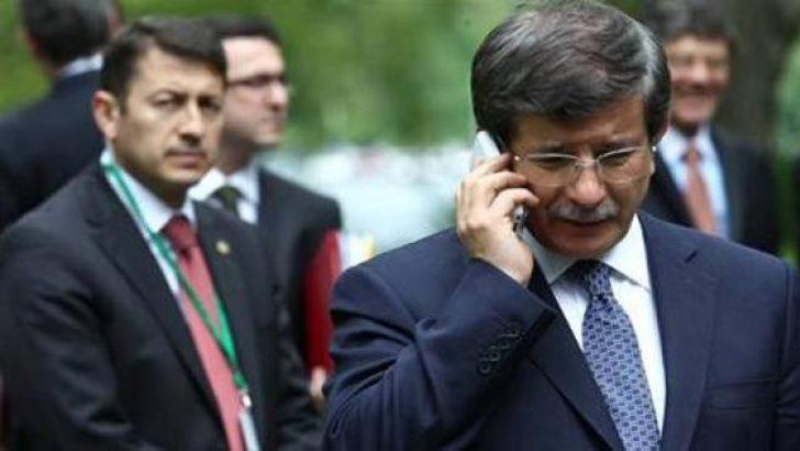 Kerry'den Davutoğlu'na acil telefon