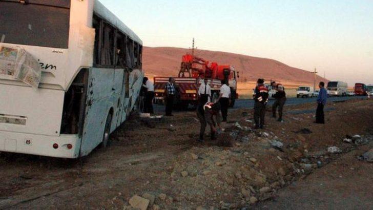 Kırşehir''de otobüs devrildi: 48 yaralı