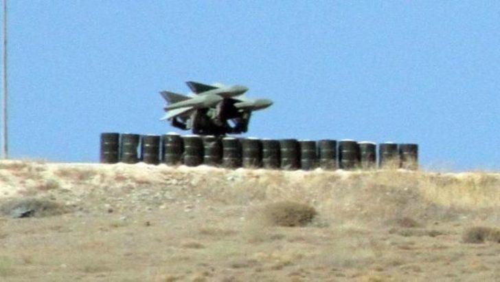Füzeler Suriye'ye çevrildi