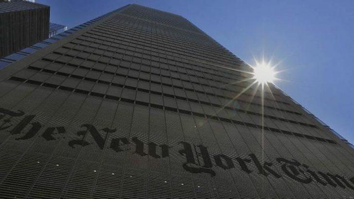 New York Times'ın internet sitesi çökertildi