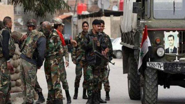 Esad'ın askeri merkezlerinde hareketlilik