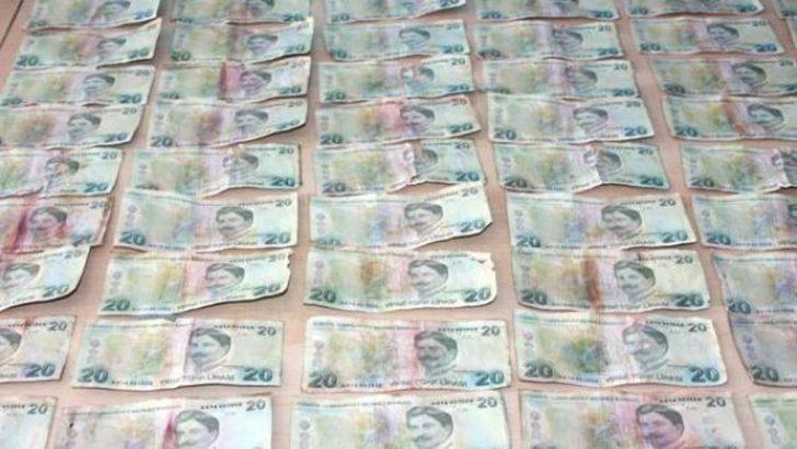 Sahte paralarla Merkez Bankası'na gidince...