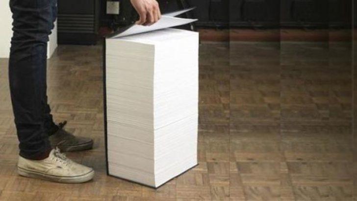 1150 sayfalık matematik kitabı