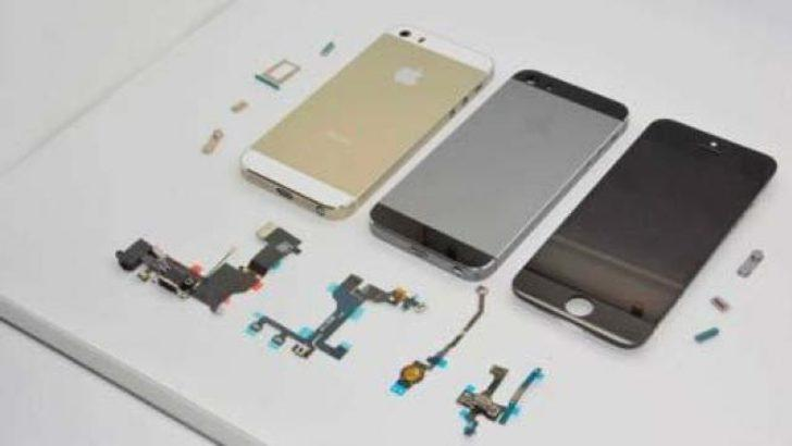 """iPhone 5S'e yeni renk seçeneği """"gri"""""""