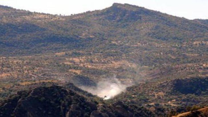 PKK bayrak dikti, şimdi tören yapılacak
