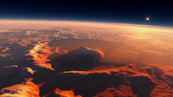 'Dünya'daki yaşam Mars'ta başladı'
