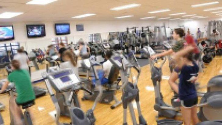 Fitness salonunda kürtaj