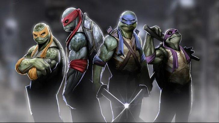 Ninja kaplumbağalar yeni şekilleriyle