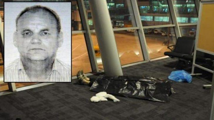 Ölüm havalimanında yakaladı