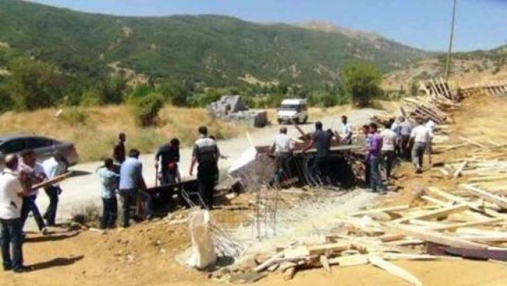 Sözde PKK şehitliği yıkıldı