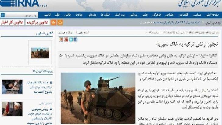 İran'dan Şah Fırat Operasyonu'na eleştiri