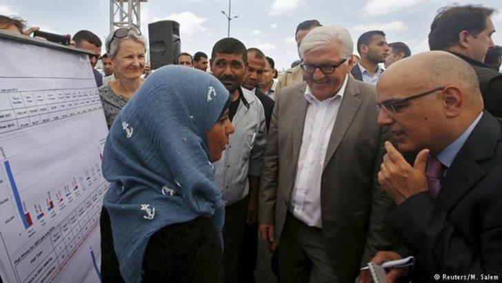 Steinmeier: 'Gazze'ye abluka kalksın'