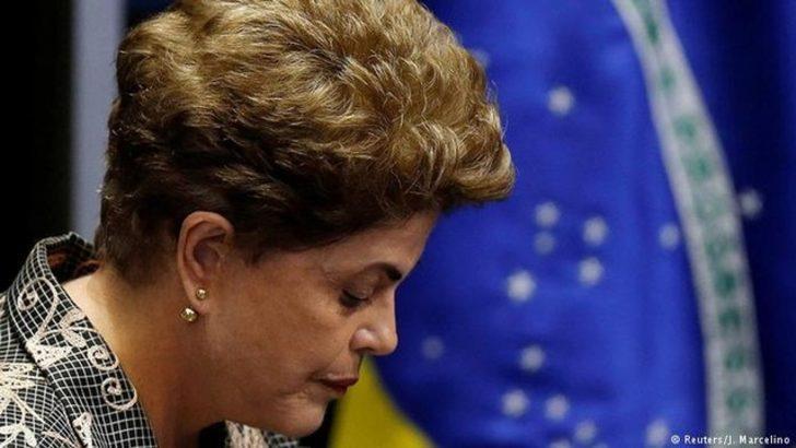 Dilma Rousseff görevinden azledildi