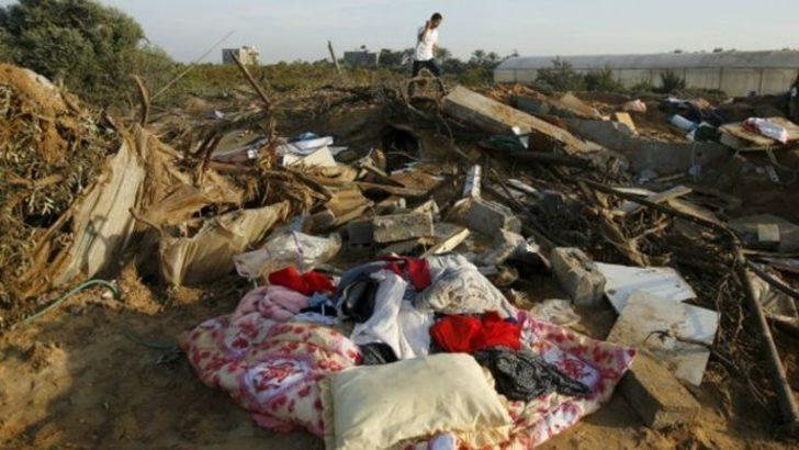 İsrail Gazze'yi vurdu: Hamile bir kadın ve çocuğu öldü