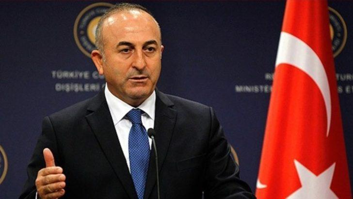 Çavuşoğlu'ndan İran'da yaşananlar hakkında son dakika açıklaması