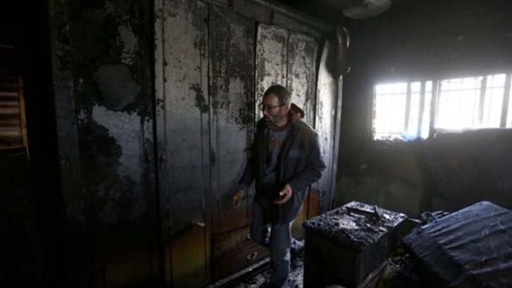 Batı Şeria'daki saldırı tanığının evi ateşe verildi