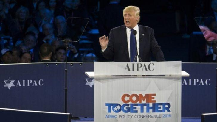 Donald Trump'tan İsrail'e destek