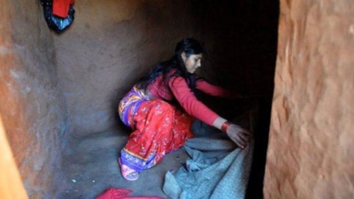 Regl olduğu için barakaya kapatılan genç kadın öldü