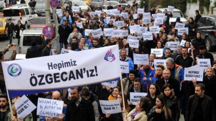 Giresun Üniversitesi Özgecan için yürüdü