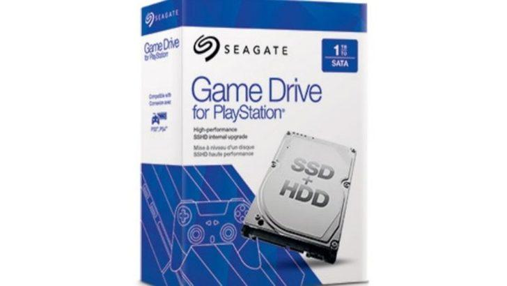 Seagate, PS4 kullanıcıları için harici depolama desteği sunacak