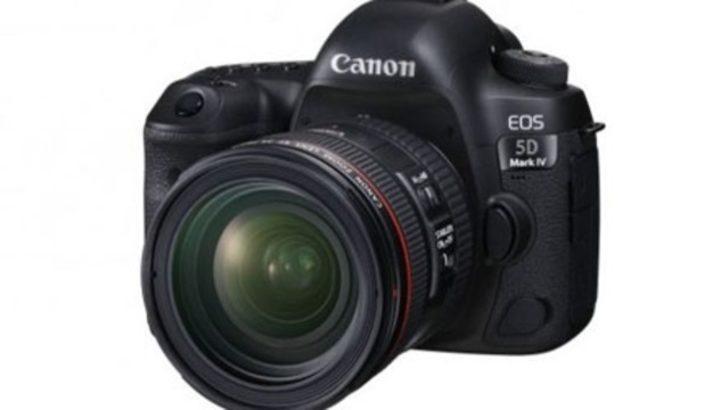 Canon yeni efsanesini tanıttı: EOS 5D Mark IV