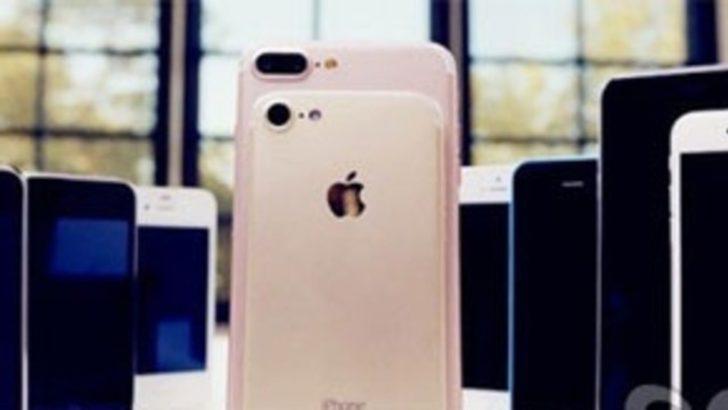 iPhone 7 özellik listesi görüntülendi!