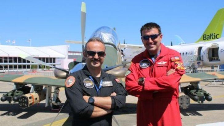En büyük havacılık fuarında 69 yıl sonra Türkiye'den bir ilk