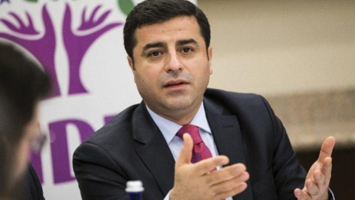 """HDP Eş Genel Başkanı Demirtaş PKK'ya """"terör örgütü"""" demedi"""