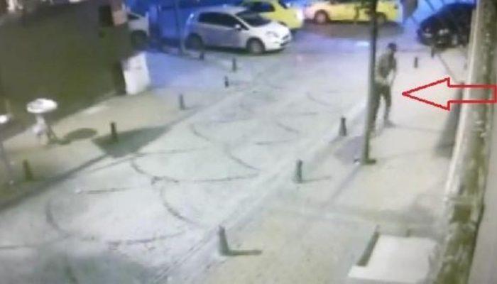 Nişantaşı'nda gece kulübüne silahlı saldırı anı kamerada