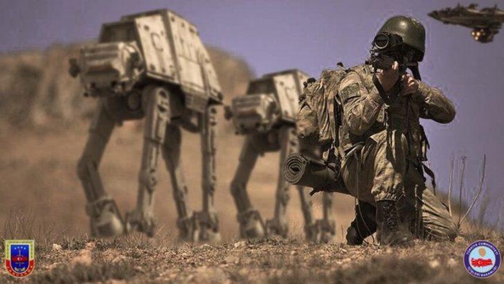 Jandarma'nın 'Star Wars Günü' tweeti sosyal medyada gündem oldu