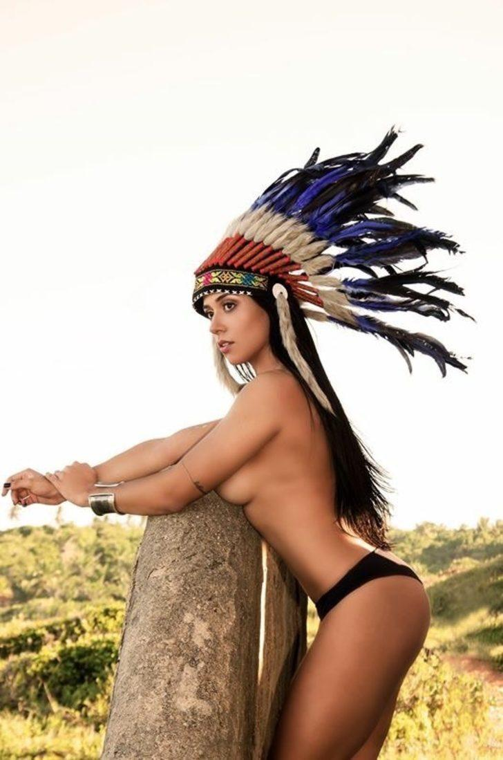 American Indian Beautiful Nude
