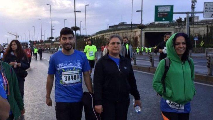 Emel Korkmaz, oğlu Ali İsmail Korkmaz'ın düşleri için koştu