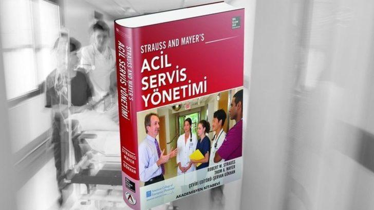 Şervan Gökhan'dan Acil Tıp için başucu kitabı!