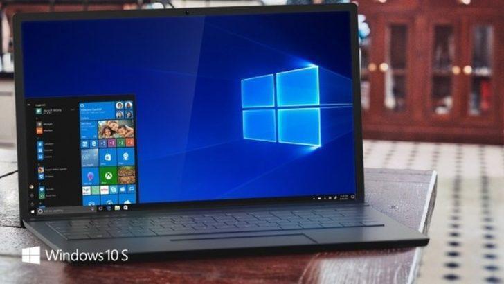 Windows 10 S duyuruldu! İşte özellikleri