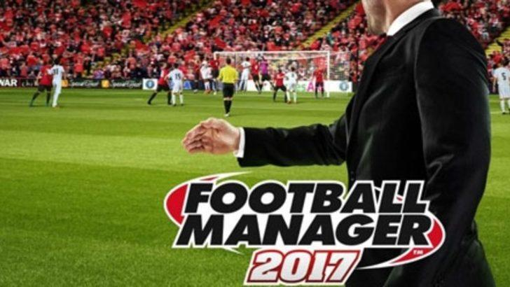 Football Manager 2017 ön siparişte