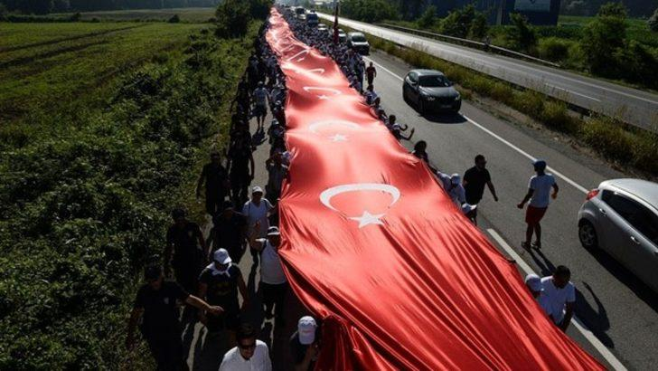 TRT'den büyük tepki çeken Adalet Yürüyüşü başlığı